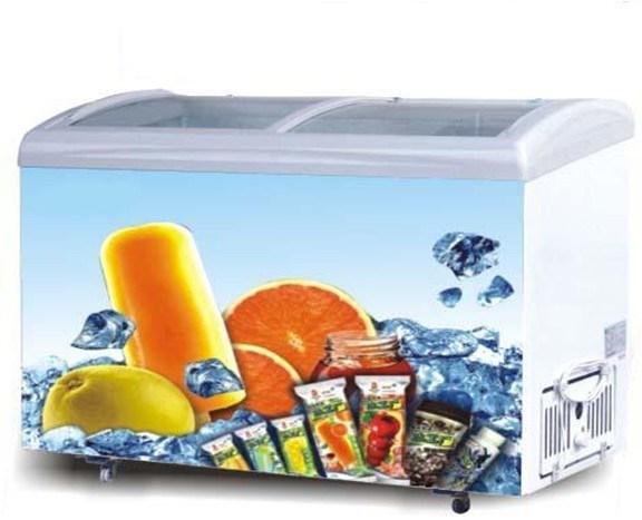 Curved Freezer