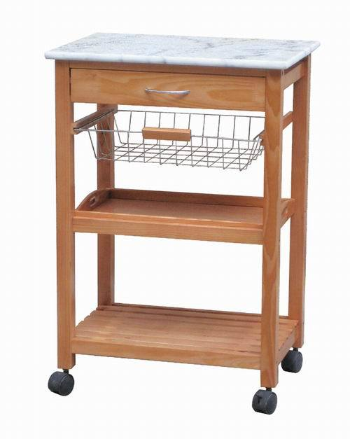 Wooden trolley designs images for Kitchen trolley design