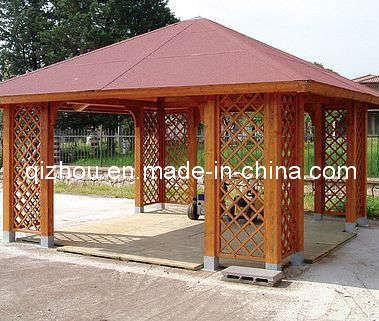 China wooden gazebo qzg8169 china gazebo pavillion - Gazebos de madera ...
