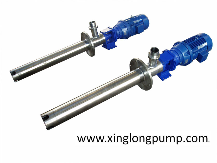 Vertical Single Screw Pump