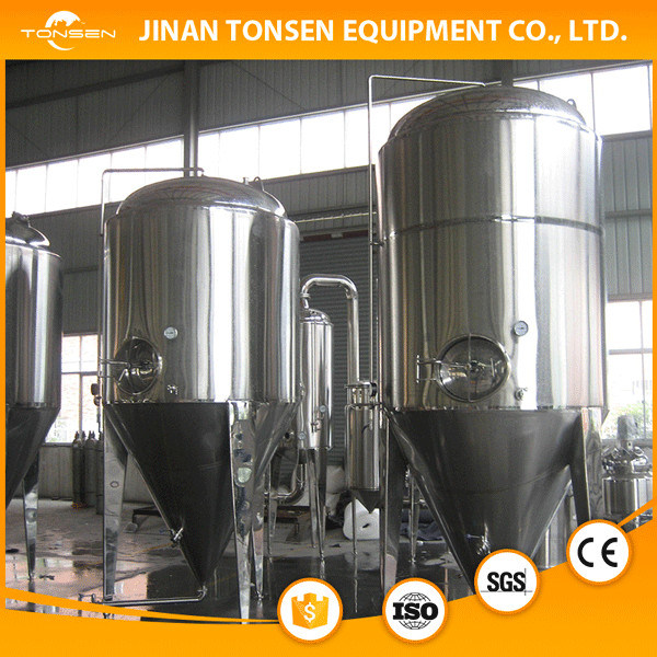 Middle Beer Brewery Equipment 1500L, 2000L, 2500L, 3000L, 3500L