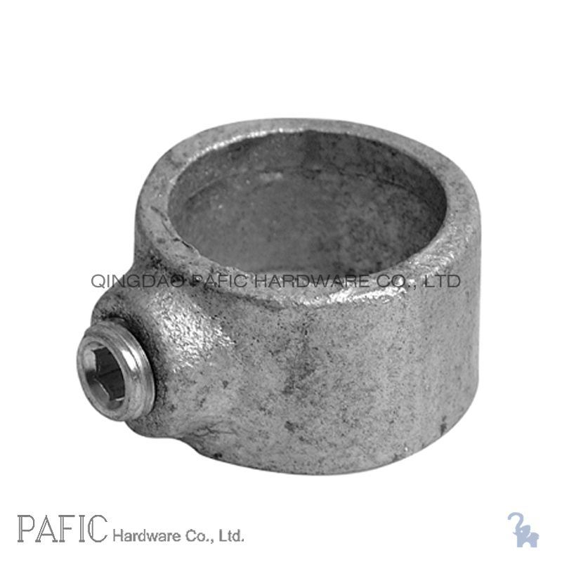 China malleable iron pipe fittings locking collar photos