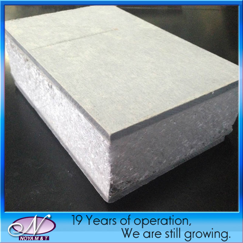 China soundproof insulated polyurethane eps foam sandwich for Foam panel house