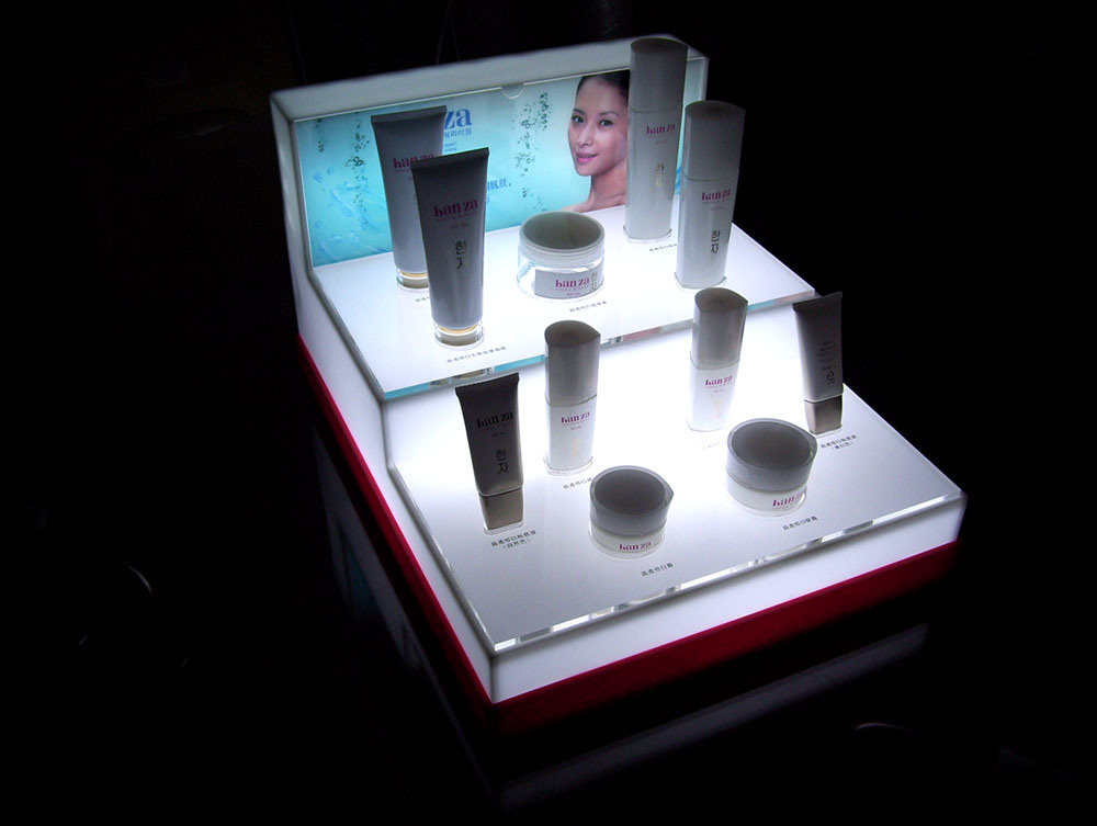 Exhibition Stand Lighting Guide : China acrylic cosmetic display kx cs