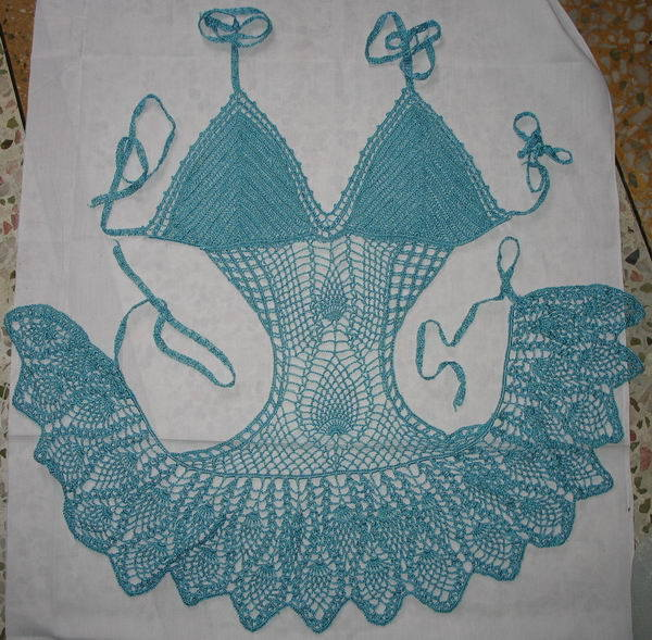 Crochet Swimsuit : China Crochet Bikini - China Bikini, Crochet Bikini