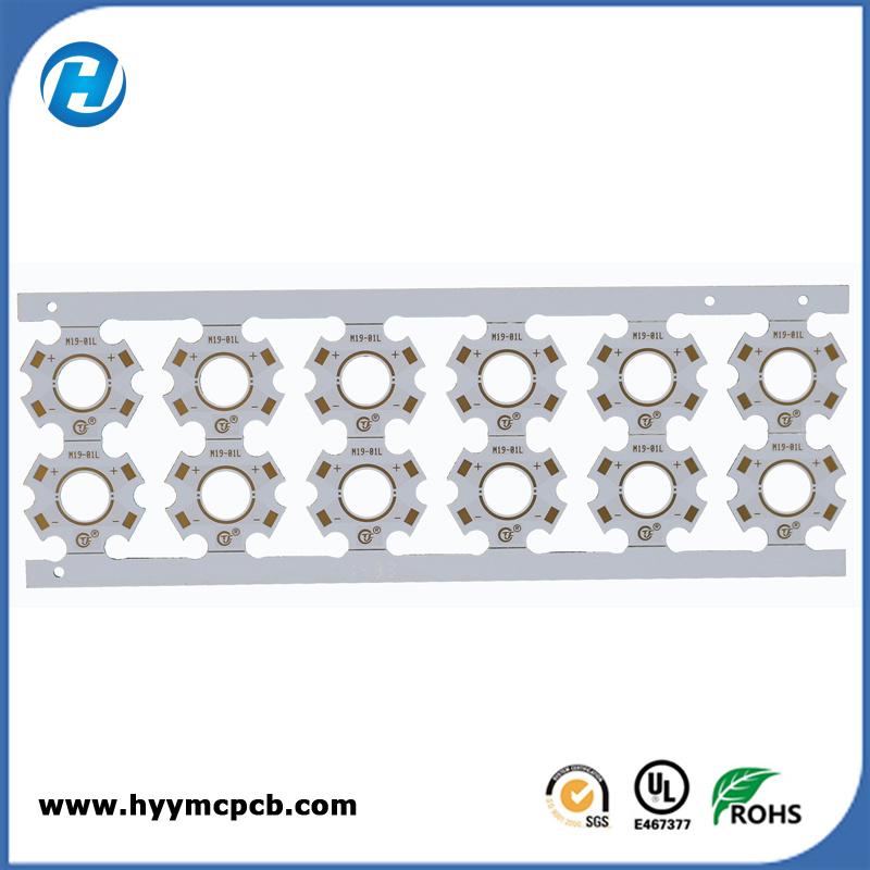 UL 1 Layer PCB Board for LED Lamp