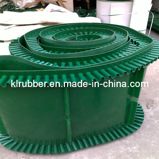 High Quality Rubber Sidewall Conveyor Belt for Incline Material Conveying