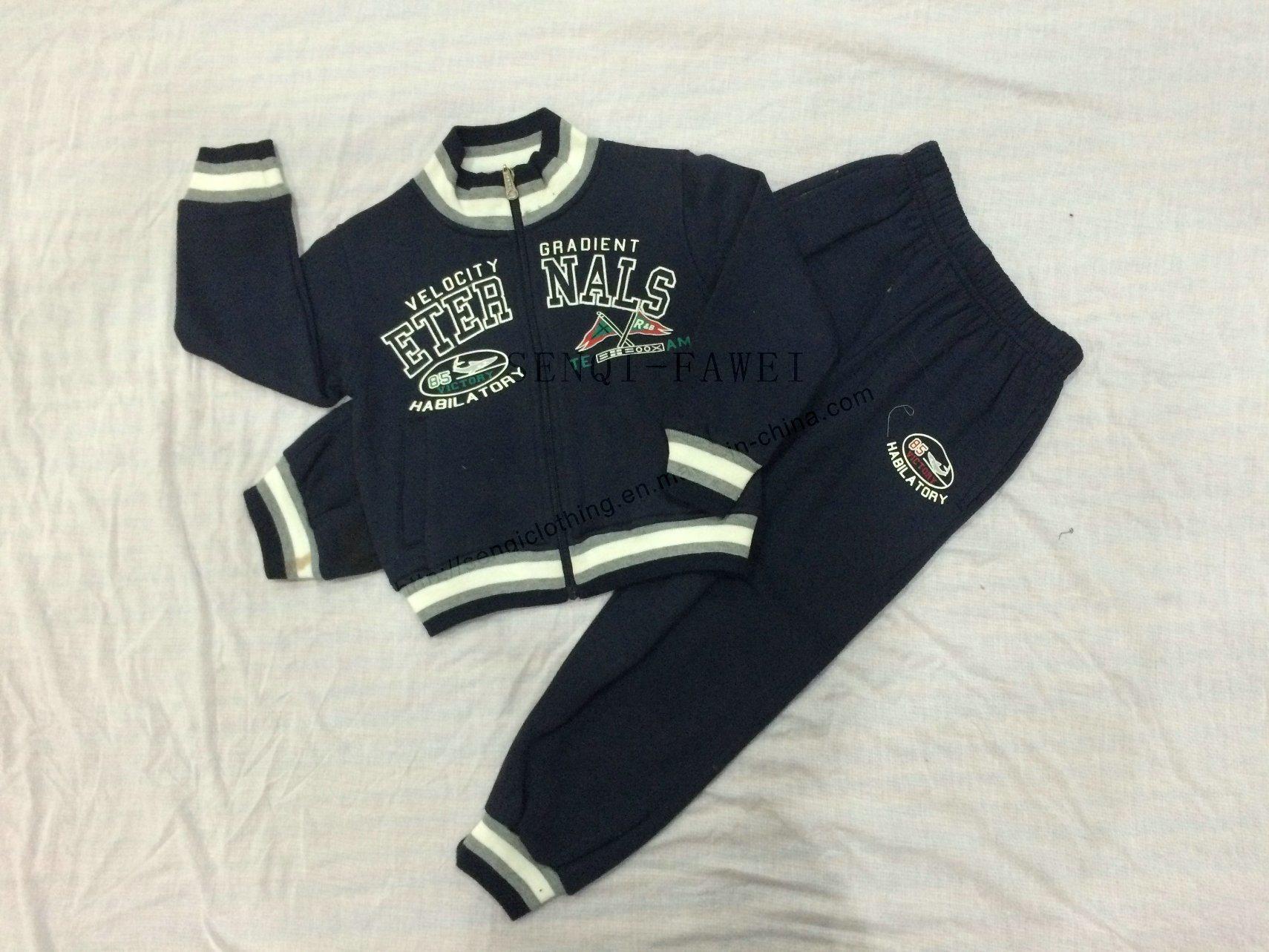 Boy Children Sport Wear Clothes for Kids Sports Tracksuit Sq-6705