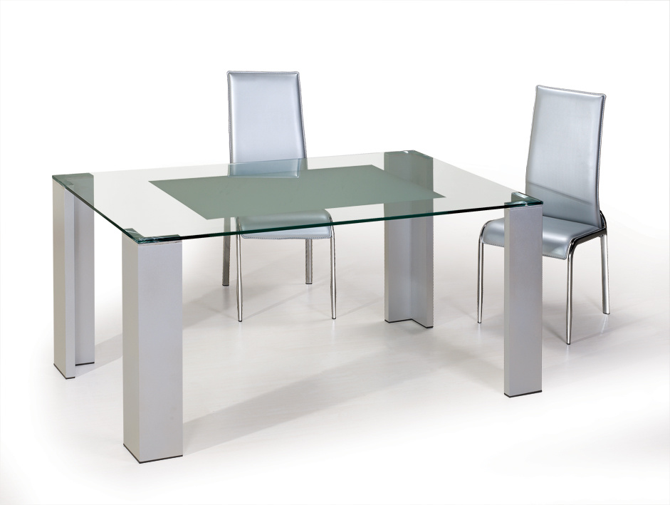 Dining table dining table and glass for Glass dining table