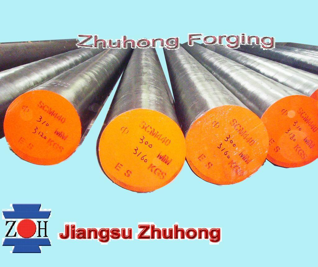 Hot Forged Round Bar (S355J2)