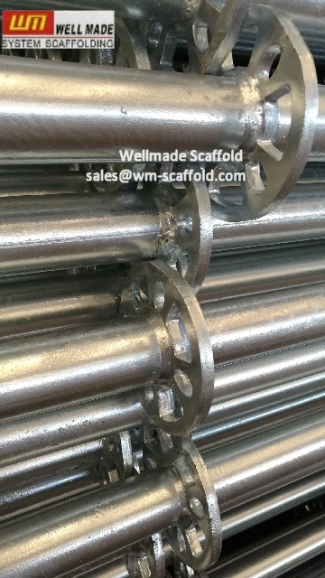 En12810 Standard Layher Ringlock Scaffolding for Construction Forming