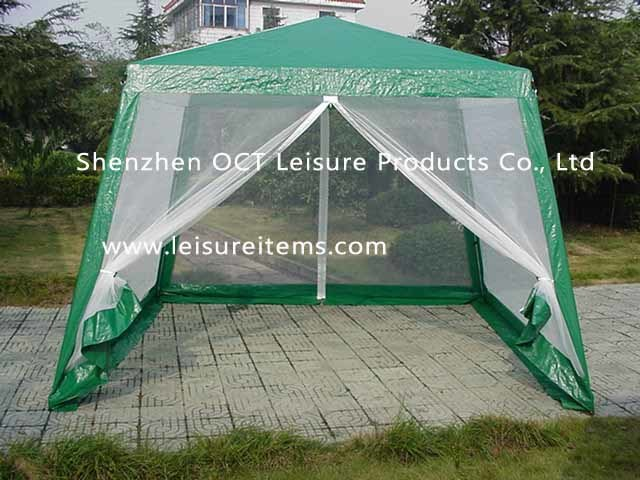 Gazebo met klamboe oct xc006 gazebo met klamboe oct xc006 doorshenzhen oct leisure products - Tent voor terras ...