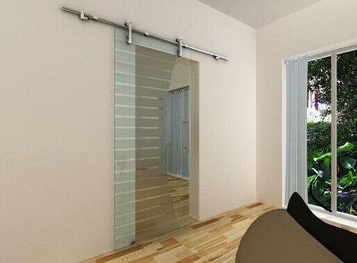 Bathroom Glass Sliding Door Accessories Sdg001 for Shower Room