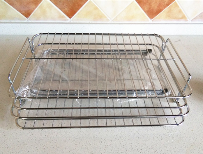 Removable Stainless Steel Bowl Rack, Dish Rack