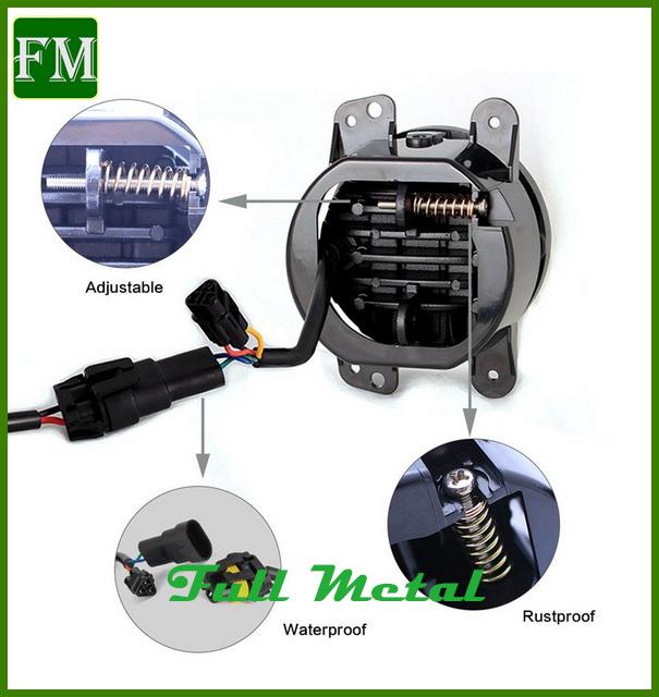 4′′ 30 Watts Waterproof Fog Light for Jeep Wrangler Unlimited Rubicon
