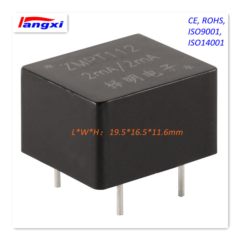 Zmpt112 2mA/2mA PCB Mounting Ultramicro Voltage Transformer 19.5 (L) *16.5 (W) *11.6 (H)