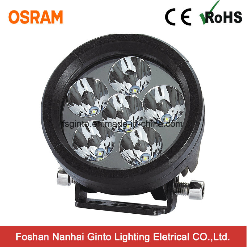 Round E-MARK 18W Osram LED Work Light (GT2009-18W)