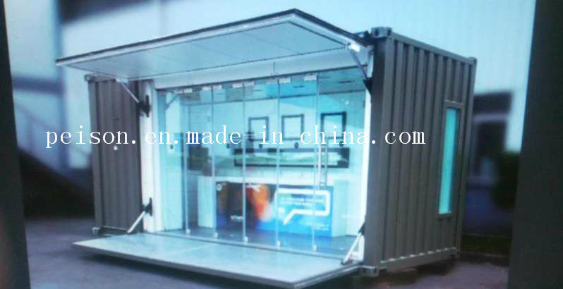Portable Simple Mobile Prefabricated/Prefab Coffee Bar/House in The Street
