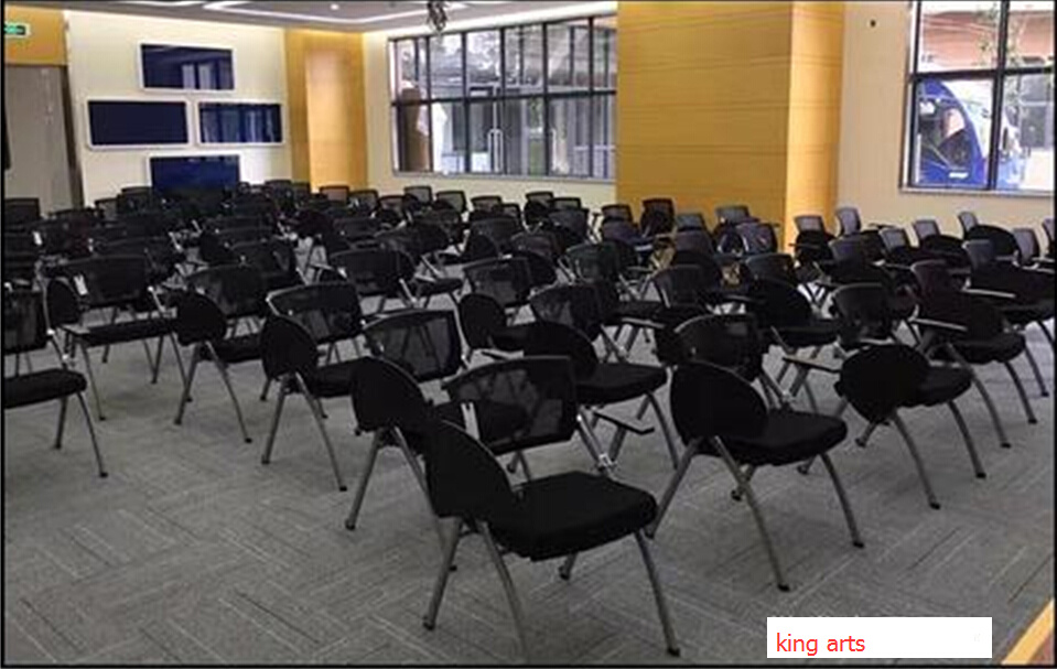 Folding School Student Meeting Conference Chair with Cushion