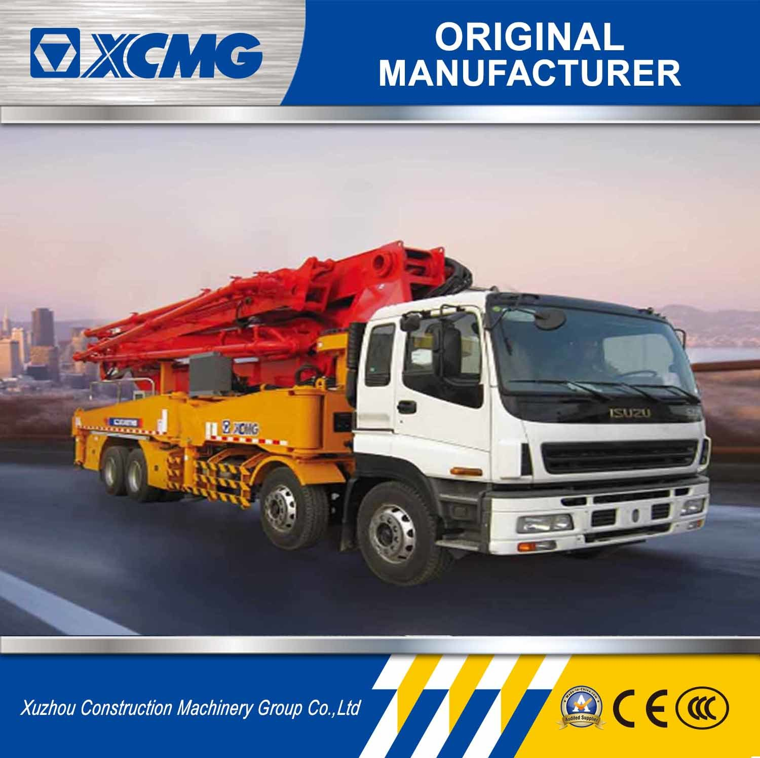 XCMG Official Manufacturer Hb46A 46m Truck Mounted Concrete Hydraulic Pump
