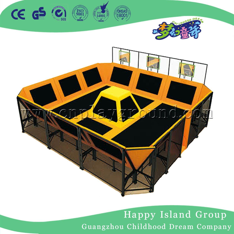 Large Trampoline Park for Trampoline Playground and Trampoline Park (HF-19704)