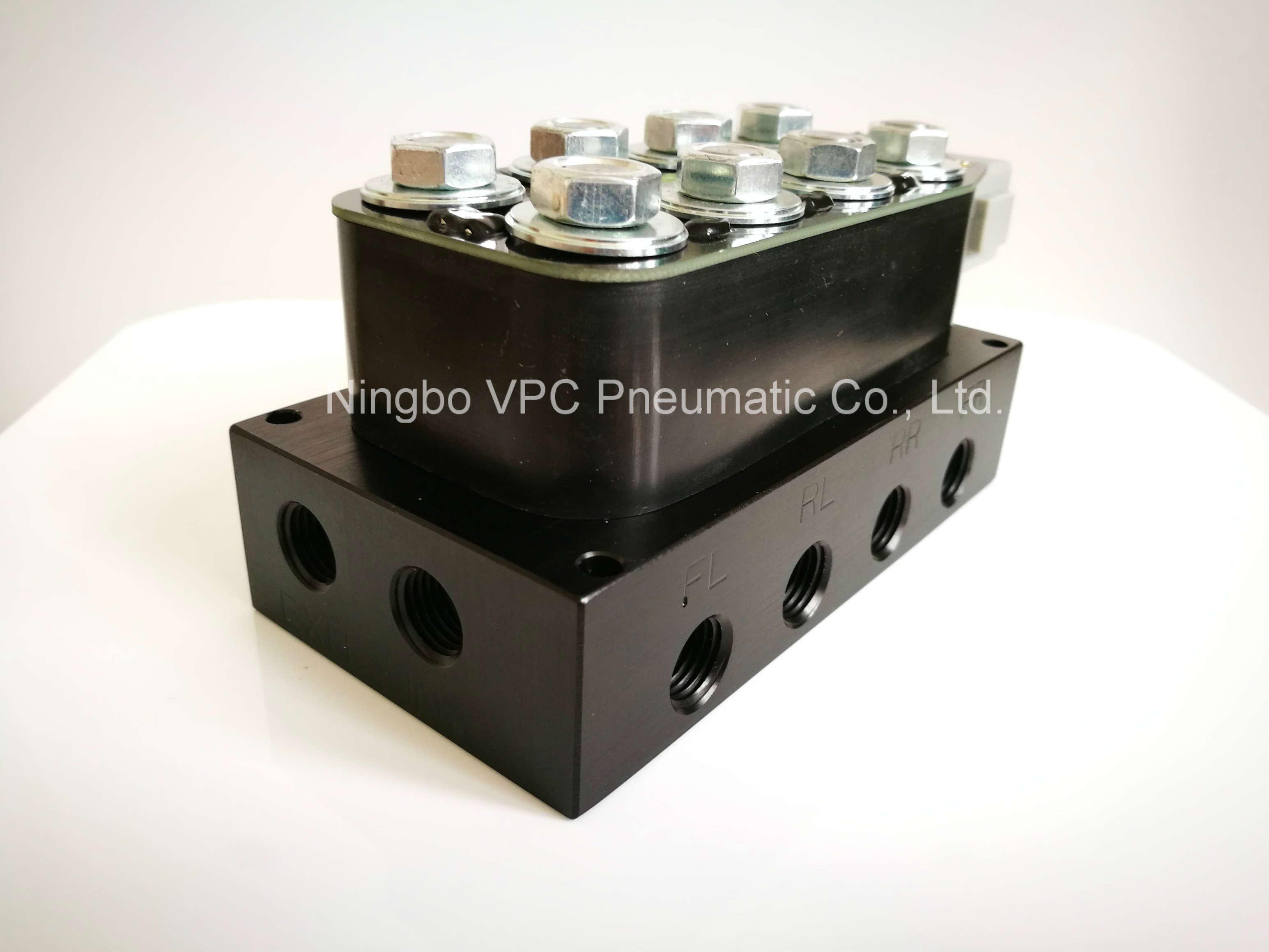 Pneumatic Solenoid Valve Diagram Smc Wiring Manifold Download
