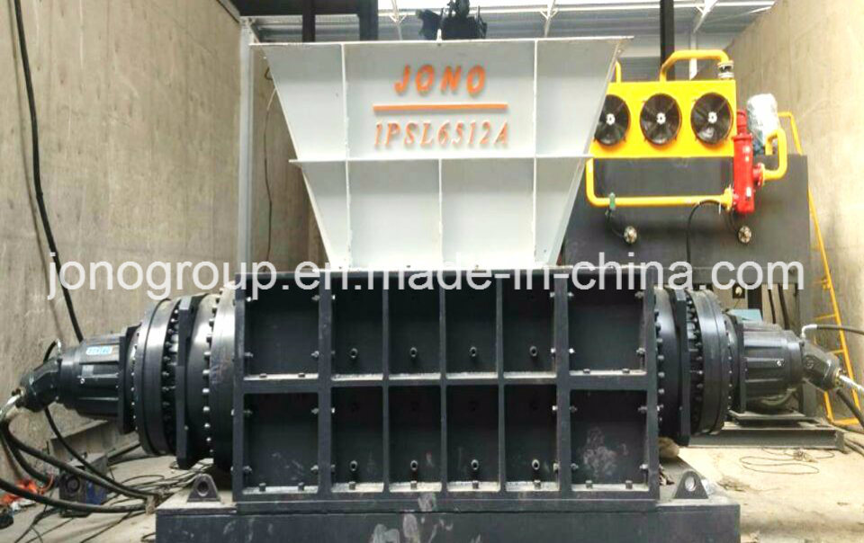 Dual-Shaft (Shear) Shredder for Metal Recycling Industry