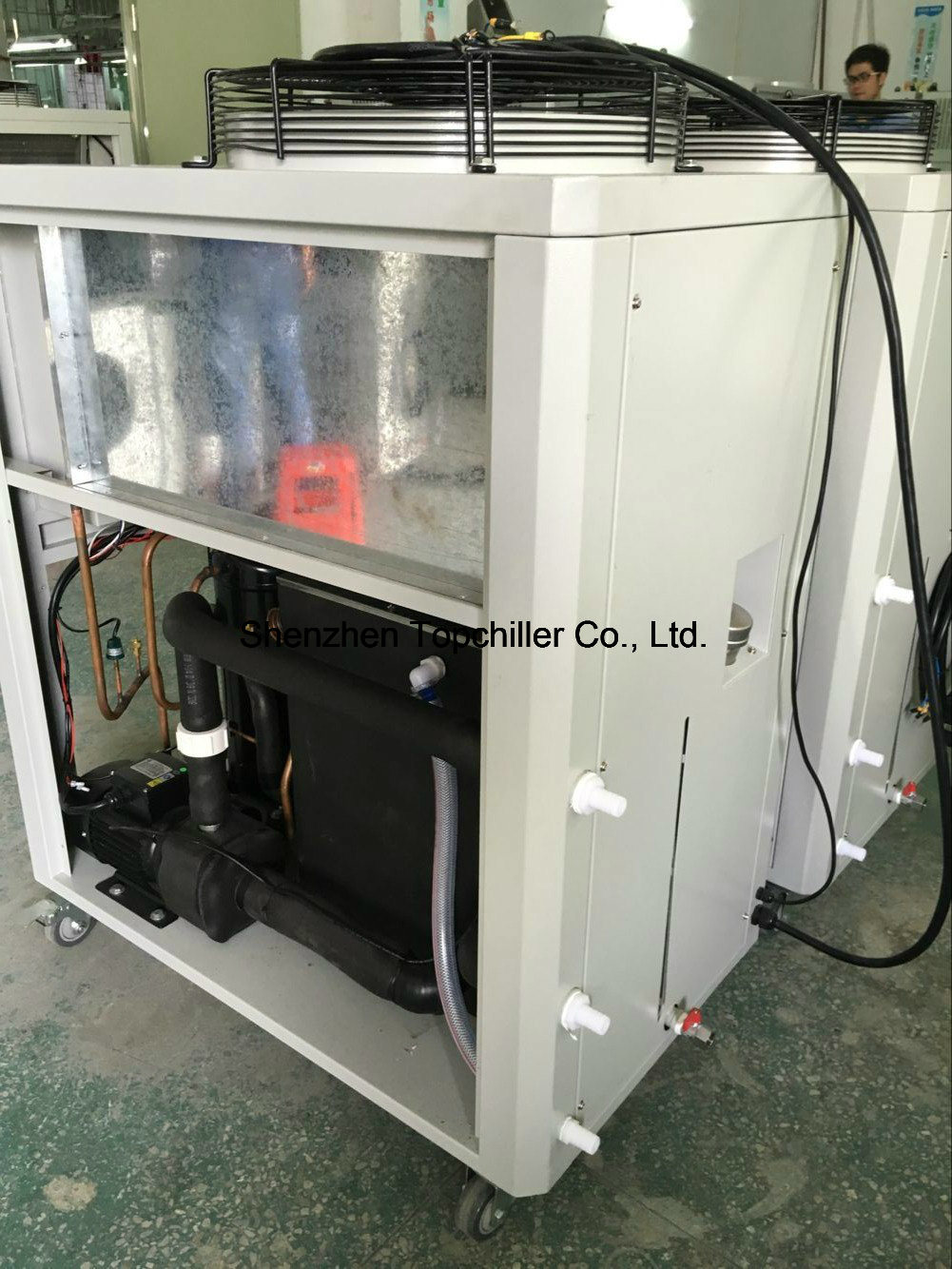 25kw Air Chiller Water Chiller with Copeland Scroll Compressor for Hot Melt Coater