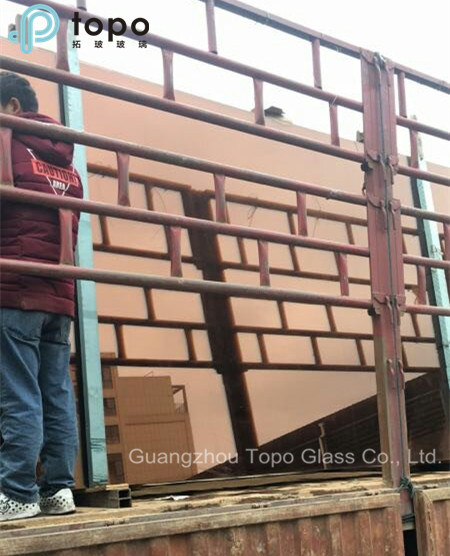 5mm-10mm Commercial Building Auto Pink Float Glass (C-P)