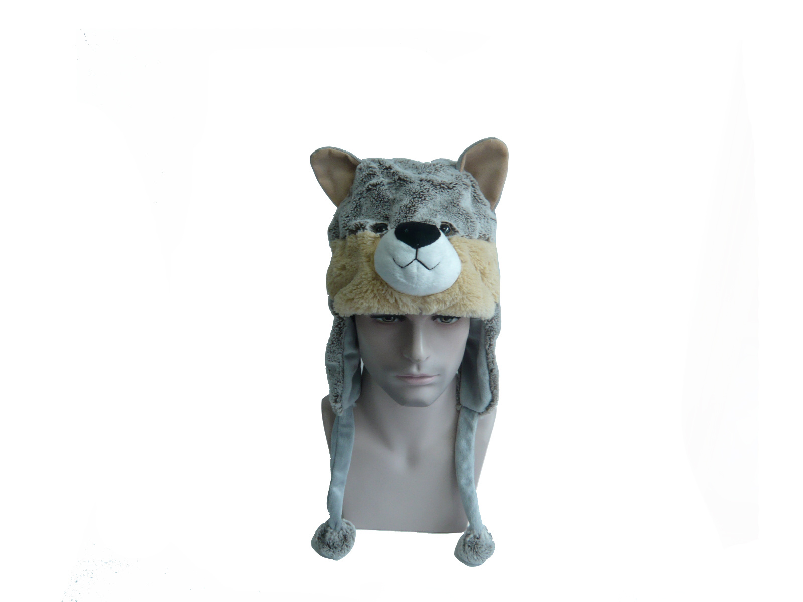 Short Soft Image Stuffed Plush Animal Hat