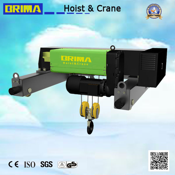 20/5 Ton European Electric Wire Rope Hoist Crane