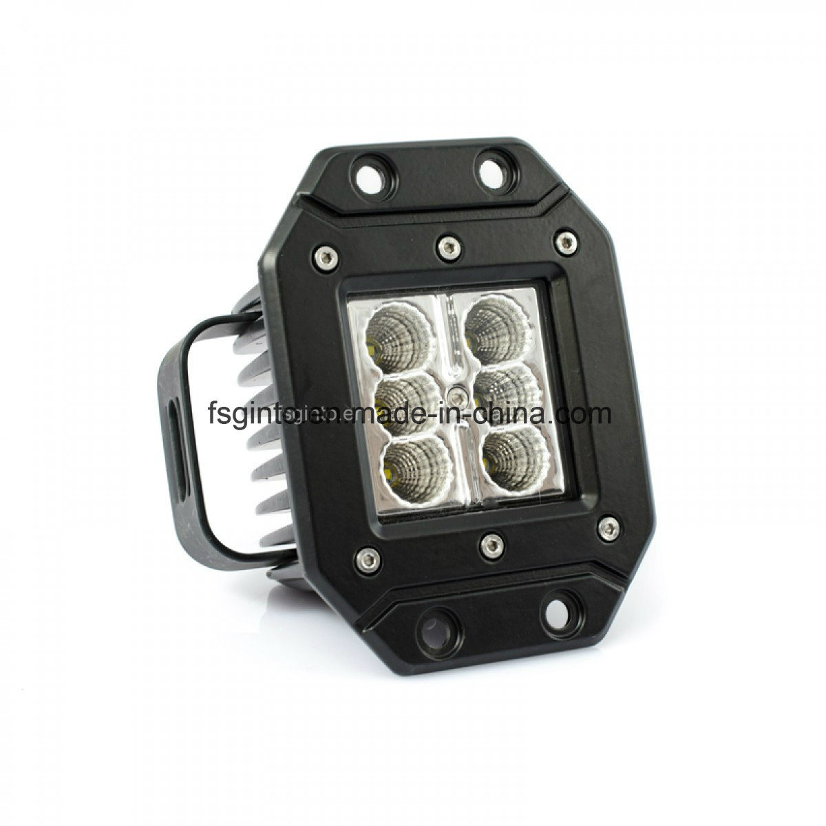 Jeep Accessories Flush Mount CREE 24W LED Work Light (GT1022A-24W)