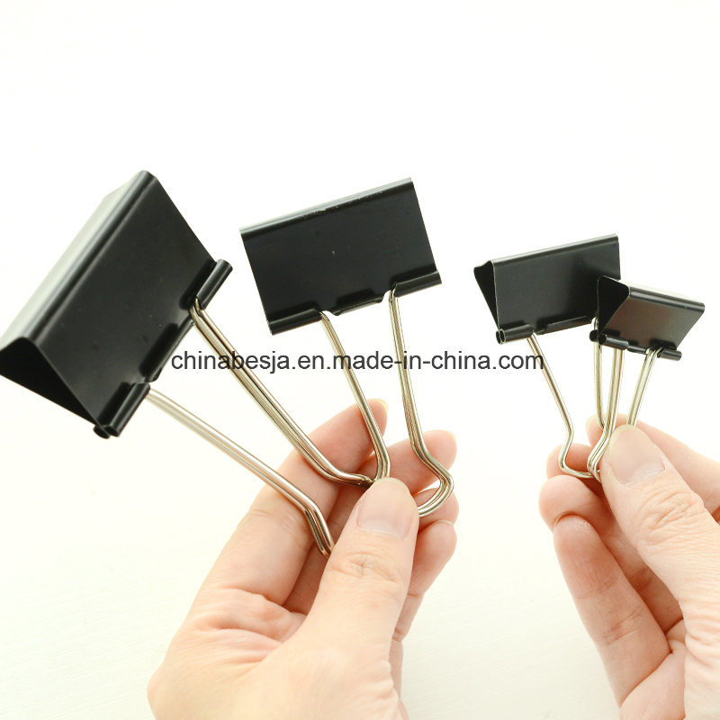 51mm Black Binder Clips (1001)