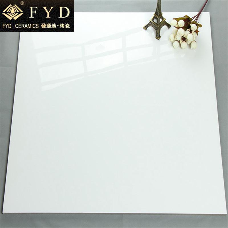 Pure White Glazed Polished Tile 800*800 600*600
