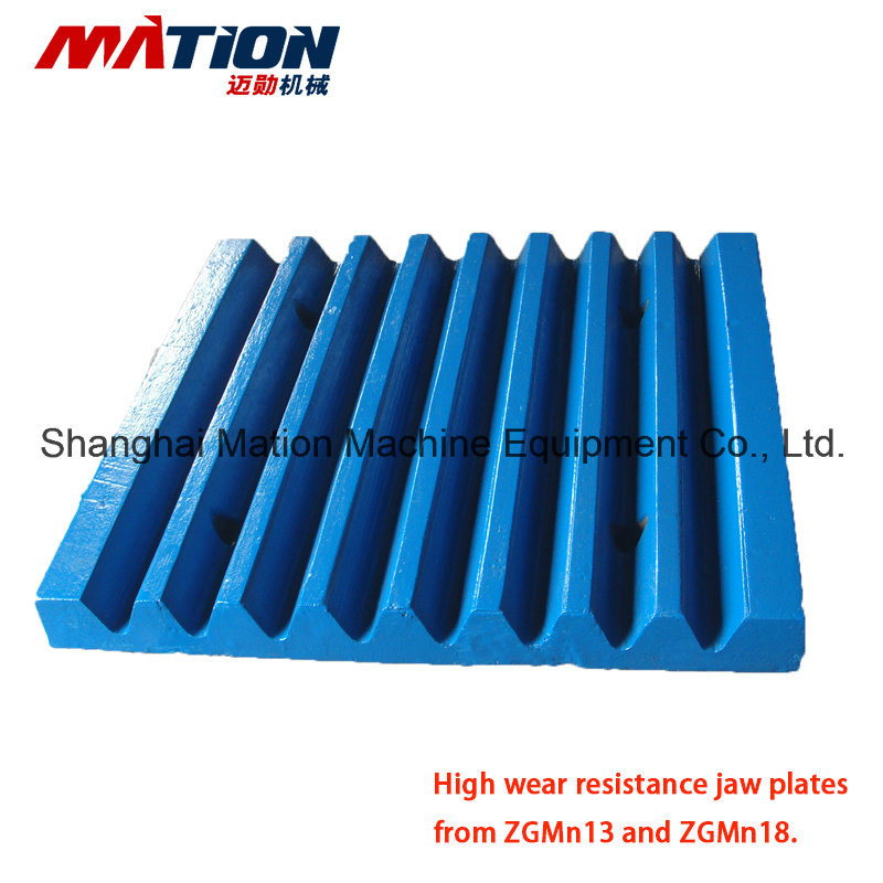 Jaw Plate for PE Jaw Crusher