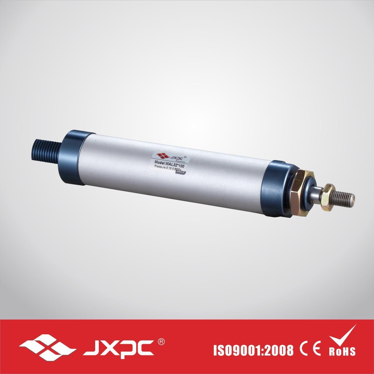 Mal Aluminum Mini Pneumatic Round Cylinder