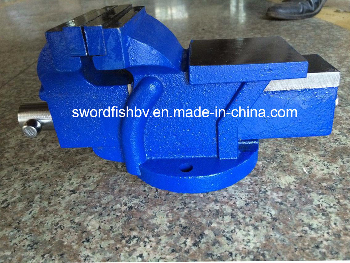 Swordfish Vice Super Heavy Duty Bench Vise Swivel with Anvil