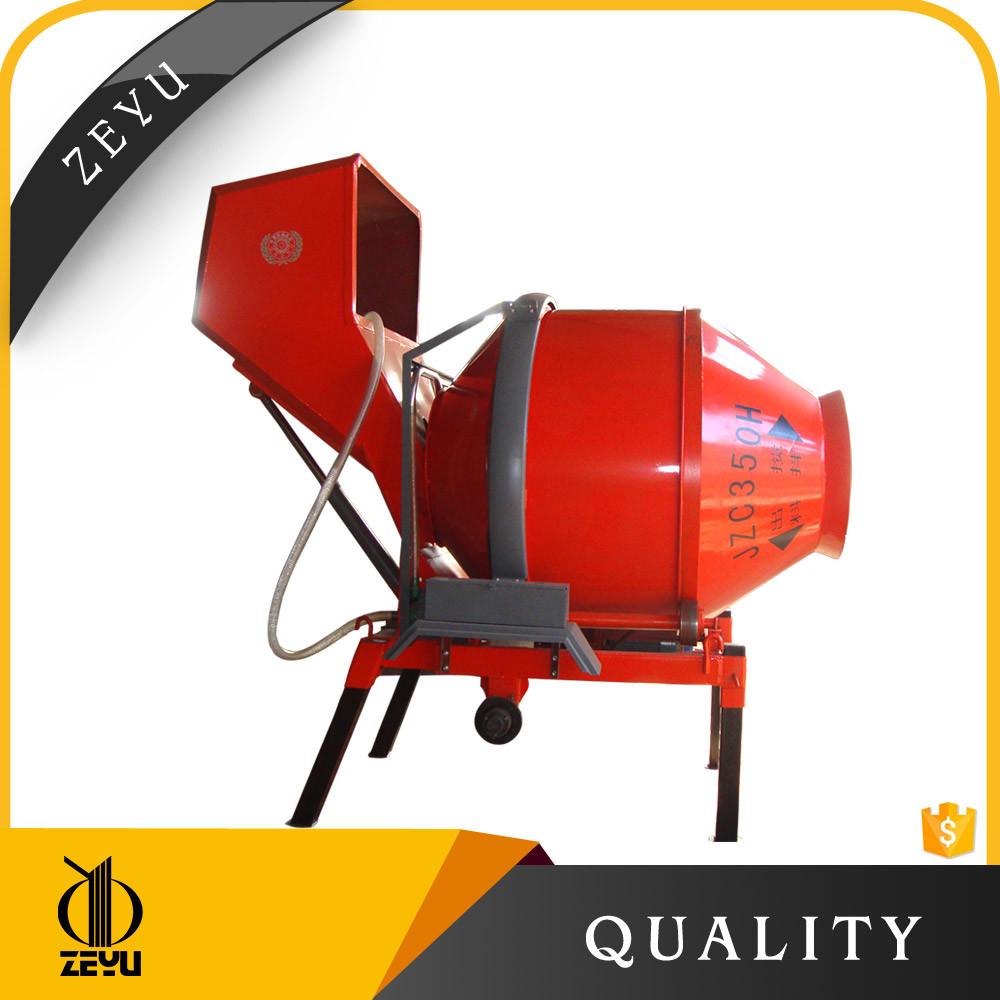 Low Price Diesel Concrete Mixer Jzc350 for Sale