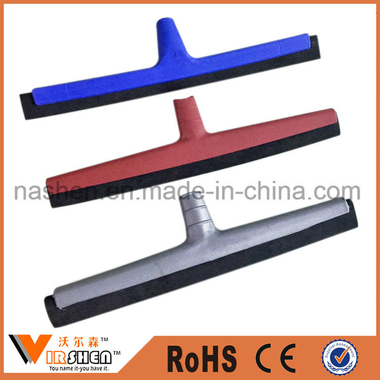 Plastic Window Cleaning Squeegee Head Desk Scrub Scraper