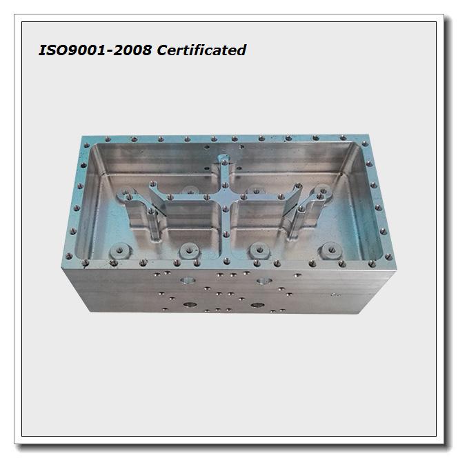 Pure CNC Machining Aluminum Filter Housing, Machined Part