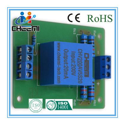 Voltage Transducer Hall Effect Voltage Sensor DC 5V Current Output