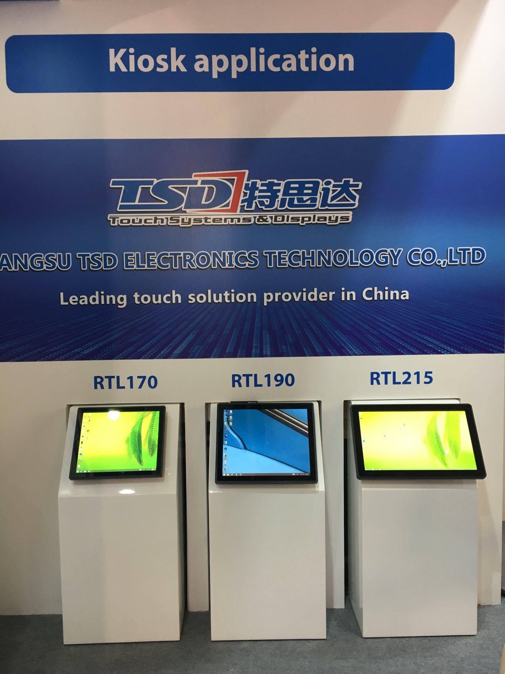 """17"""" Rear Mount Zero Bezel Touch Monitor for ATM Vtm Vdm"""