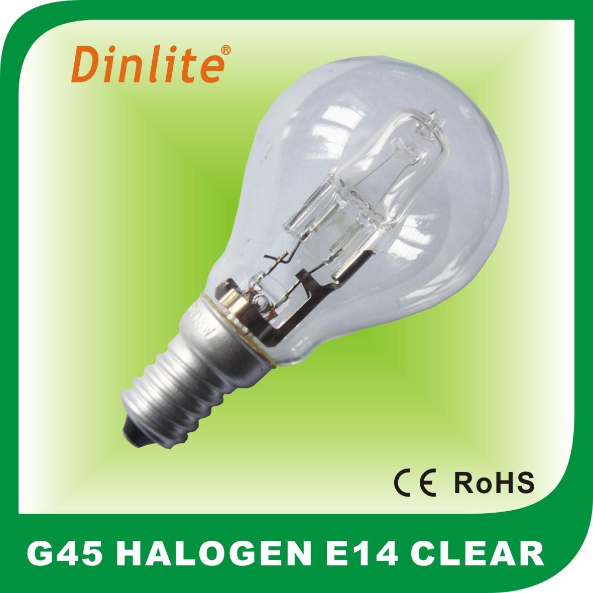 Hot sell G45 E14 ECO halogen bulb