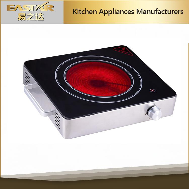 Waterproof and Greaseproof Panel Ceramic Cooker (ES-J100)