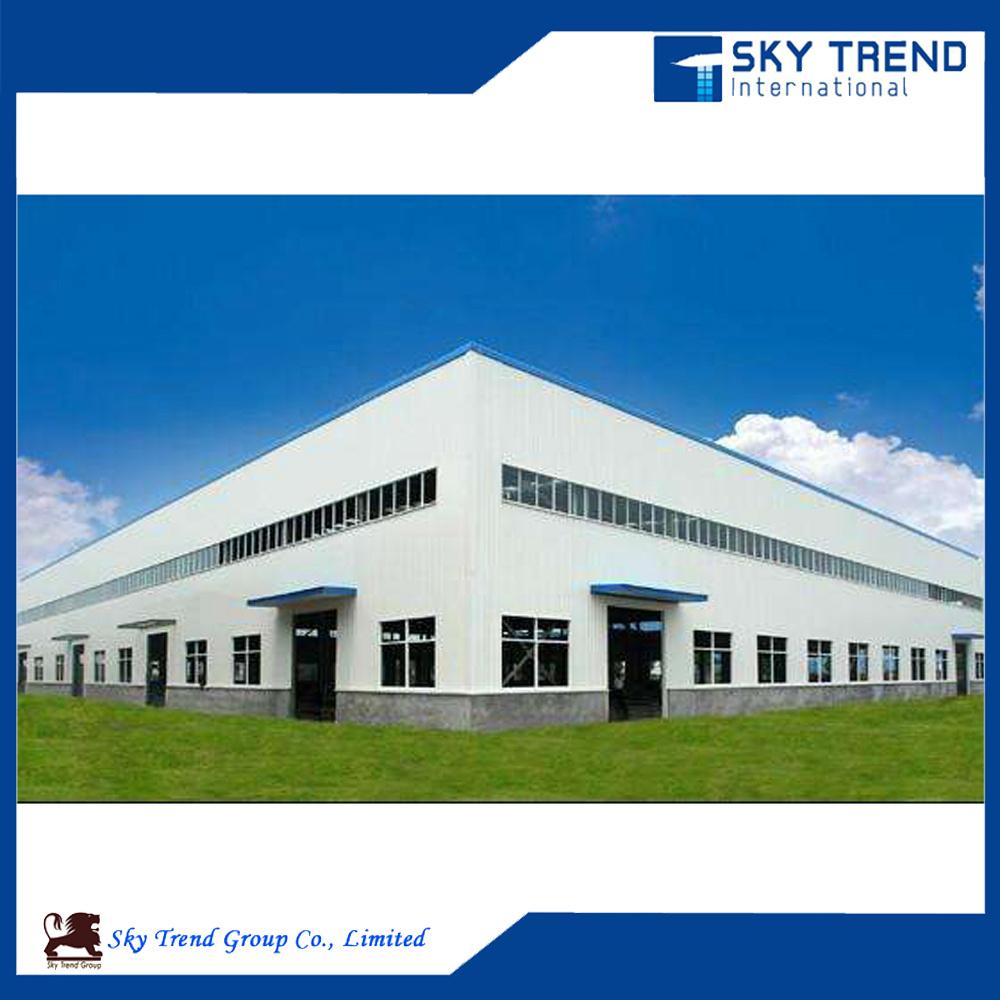 Prefabricated Steel Frame Structure Building Workshop for Cold Storage Steel Hangar Steel Garage
