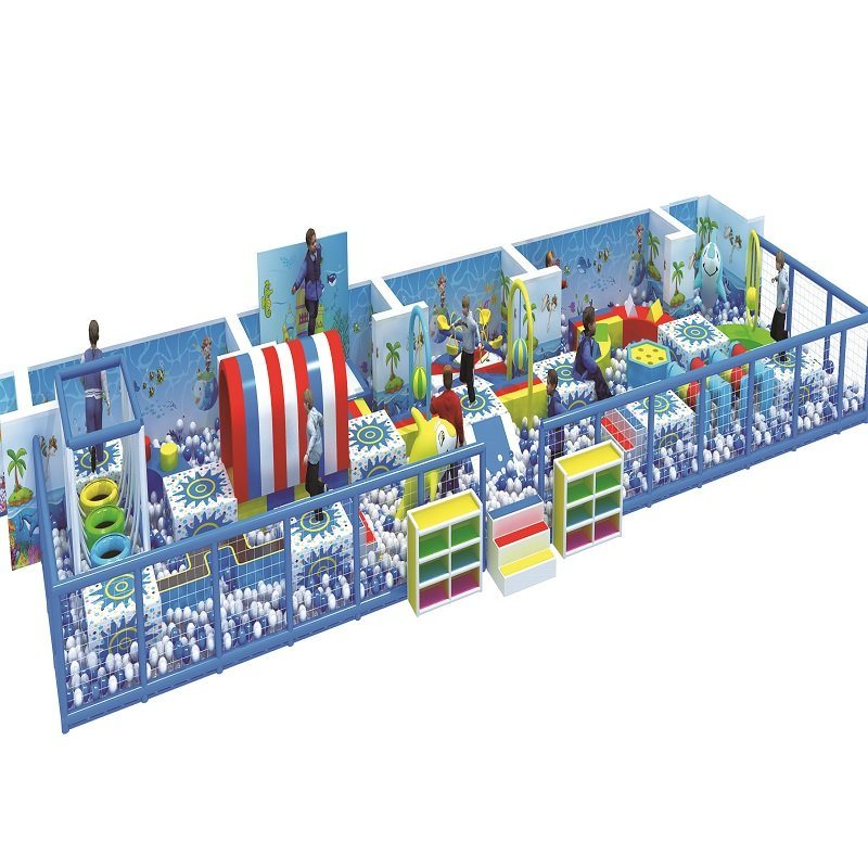 Factory Sale Unique Design Exclusive Cartoon Theme Children Games Playground