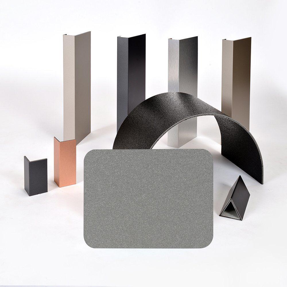 Aluis Exterior 6mm Fire-Rated Core Aluminium Composite Panel-0.30mm Aluminium Skin Thickness of PVDF Bright Silver