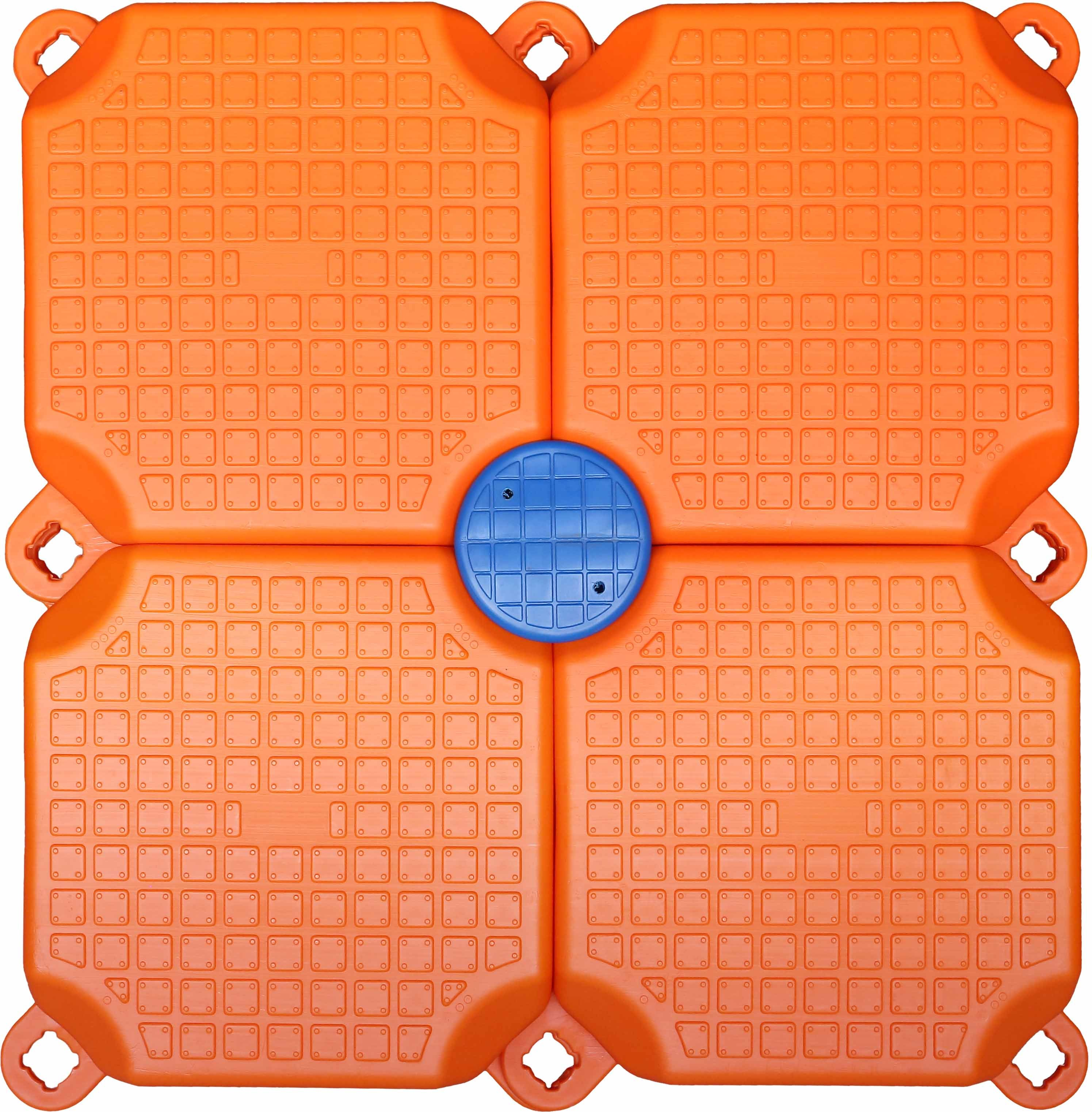 Popular Orange Single Cube Floating Dock Used Boat Docks for Sale