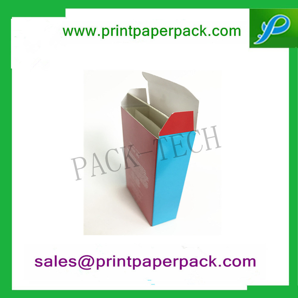 Custom Packaging Box Superior Luxury Lighter Cosmetic Perfume Jewelry Skincare Paper Gift Folding Packing Box with PVC / Pet / Cardboard Insert