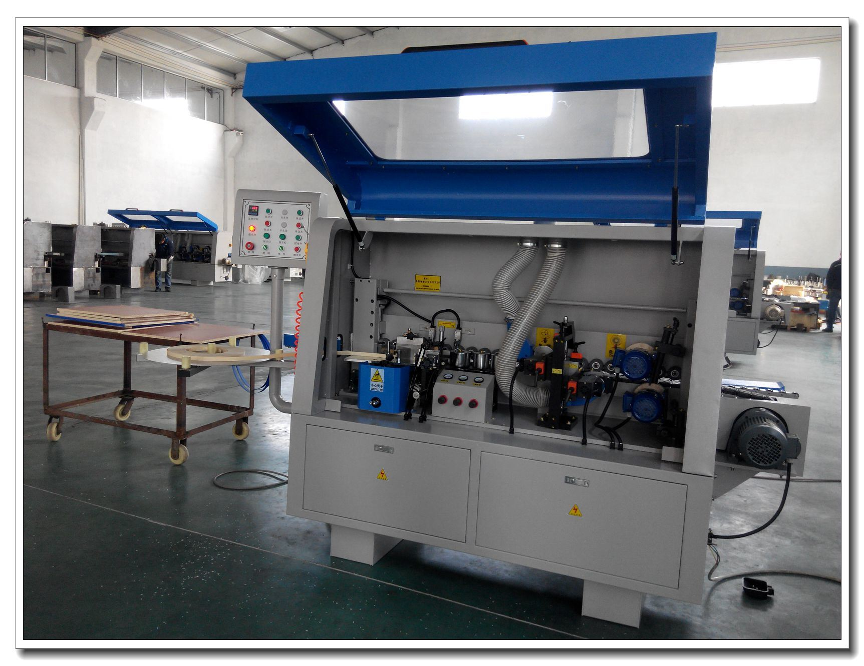 PVC Edge Banding Machine for Sealing MDF Edge Bander Mf60e